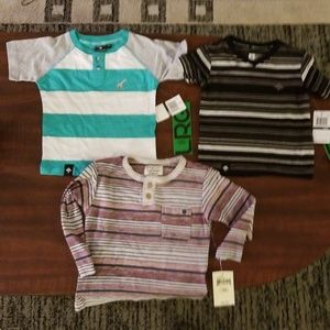 6 Boys Shirts LRG, Lucky Brand and more. New/Used